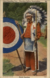 Chief Standing Deer - Cherokee Indian Reservation