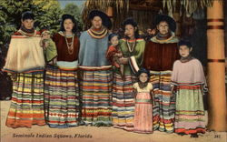 Seminole Indian Squaws