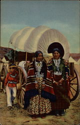 Navajo Women in Native Garb