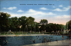 Marshalltown iowa vintage postcards images - Decorah municipal swimming pool decorah ia ...