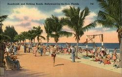 Boardwalk and Bathing Beach