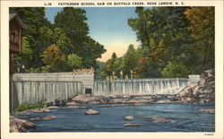 Patterson School Dam on Buffalo Creek
