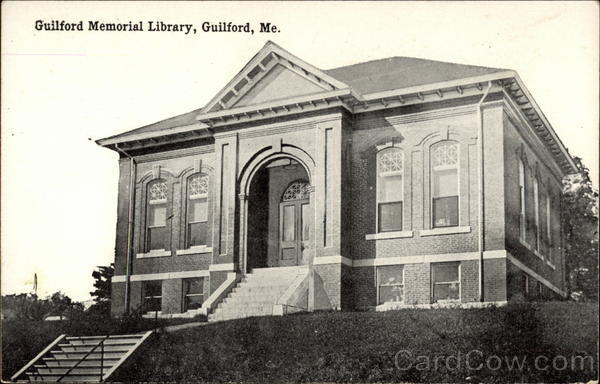 Guilford Memorial Library Maine