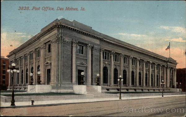 Post Office Des Moines Iowa