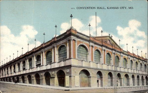 Convention Hall Kansas City Missouri
