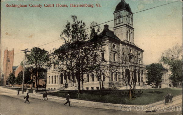 Rockingham County Court House Harrisonburg Virginia