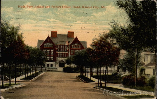 Hyde Park School and Robert Gillam Road Kansas City Missouri