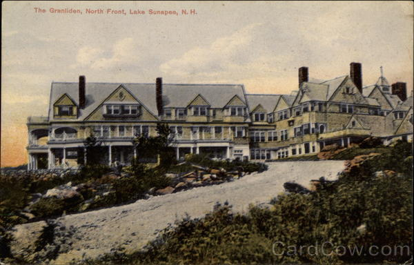 The Granliden, North Front, Lake Sunapee, N.H New Hampshire