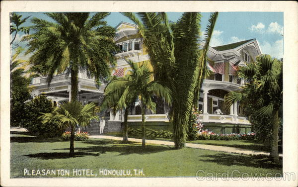 Pleasanton Hotel Honolulu Hawaii