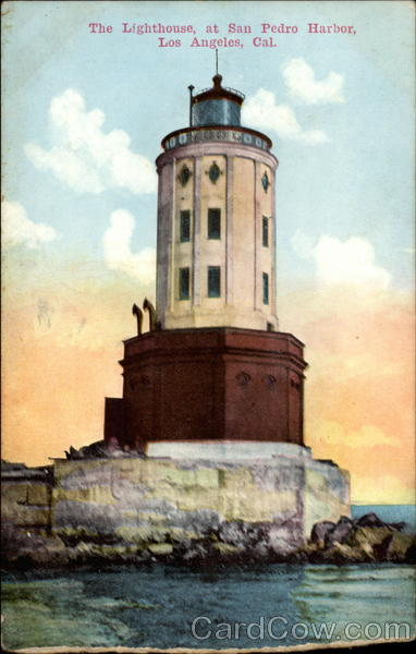 The Lighthouse, at San Pedro Harbor Los Angeles California