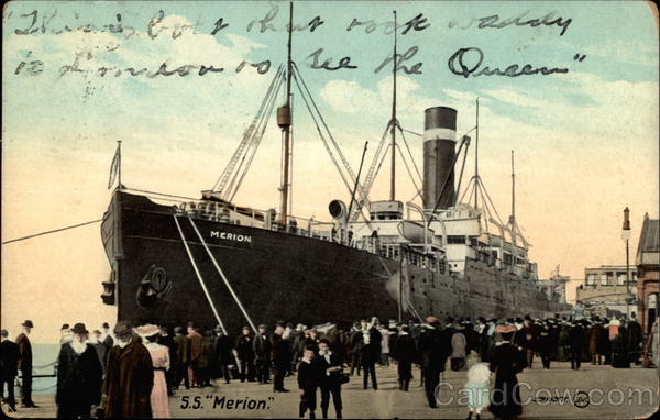 S.S. Merion Boats, Ships