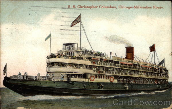 S.S. Christopher Columbus, Chicago-Milwaukee Route