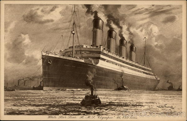 White Star Line - R.M.S. Olympic Boats, Ships