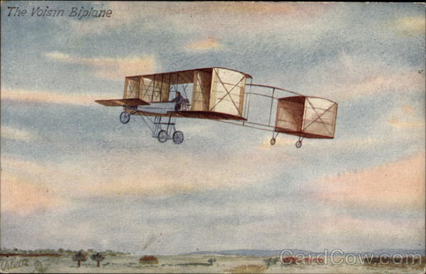 The Voisin biplane Aircraft