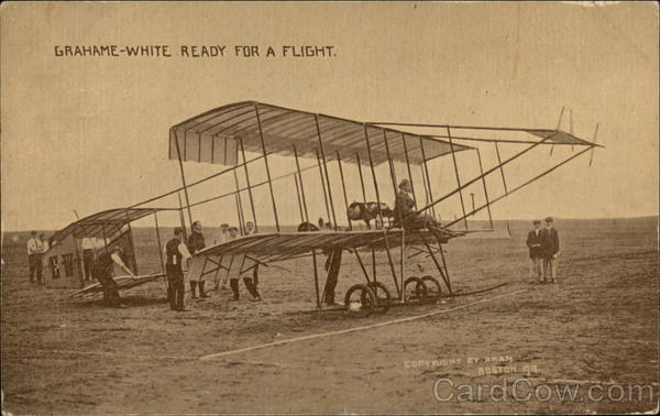 Grahame-White Ready For A Flight Aircraft