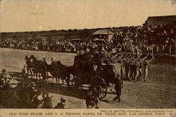 Old Time State, and U.S. Troops, Santa Fe, Trail Day