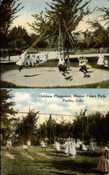Childrens Playground, Mineral Palace Park