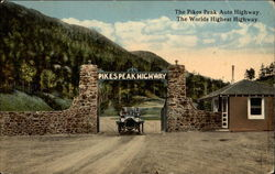 The Pikes Peak Auto Highway - The Worlds Highest Highway