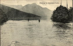 Fishing In Montana Lake
