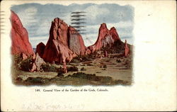 General View of the Garden of the Gods