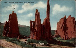 Cathedral Spires, Garden of the Gods, Colo