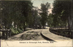 Entrance to Greenough Park
