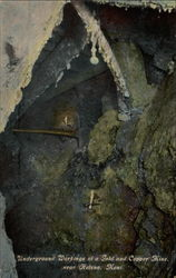 Underground Workings of a Gold and Copper Mine
