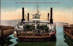 "Southern Pacific Co.'s Ferryboat ""Solano"""