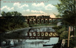 Erie Railroad Bridge over Neversink River