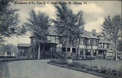 Residence of Ex Gov. E. C. Smith's Farm