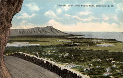 Diamond Head from Punch Bowl, Honolulu, T.H