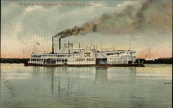 "St Louis and Keokuk Steamer ""St. Paul"""
