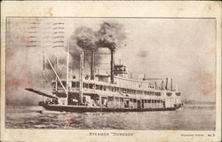 "Steamer ""Dubuque"""