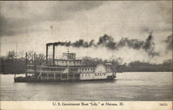 "U. S. Government Boat "" Lily """