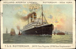 Holland-American Line T.S.S. Rotterdam