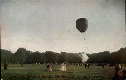 Balloon Ascension At Riverside Park