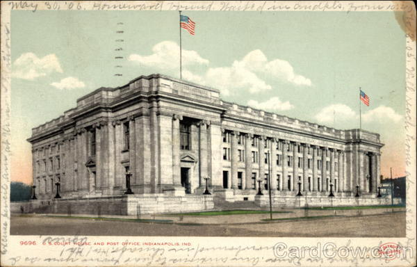 Court House and Post Office Indianapolis