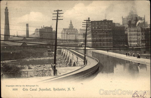 Erie Canal Aqueduct Rochester New York