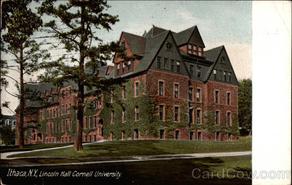 Lincoln Hall Cornell University Ithaca New York