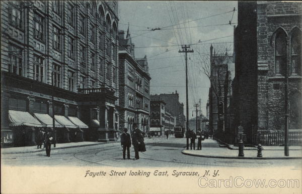 Fayette Street looking East Syracuse New York