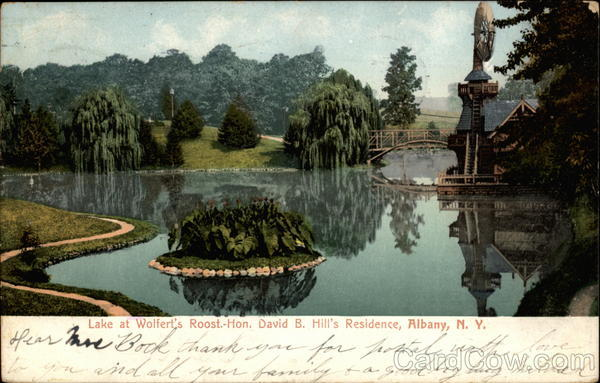 Lake at Wolfert's Roost Albany New York