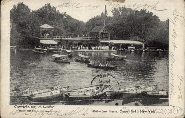 Boat House Central Park New York