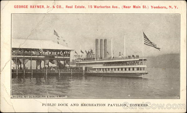 Public Dock and Recreation Pavillion Yonkers New York