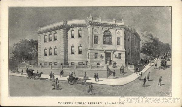 Yonkers Public Library New York