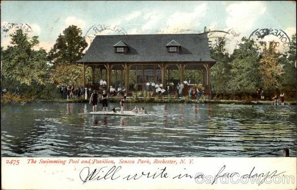 The Swimming Pool and Pavilion, Seneca Park