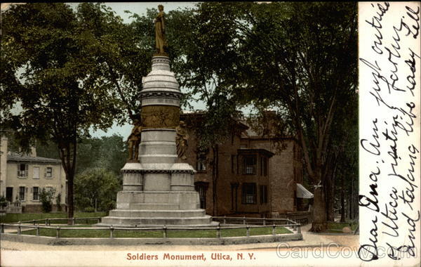 Soldiers Monument Utica New York
