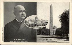 E.S. Stuart, New Gov. of Penna., and The Soldiers Monument