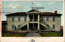 The first Capitol Building of California