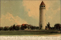 Water Tower and Officers Quarters