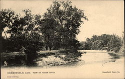 View on Green River Postcard